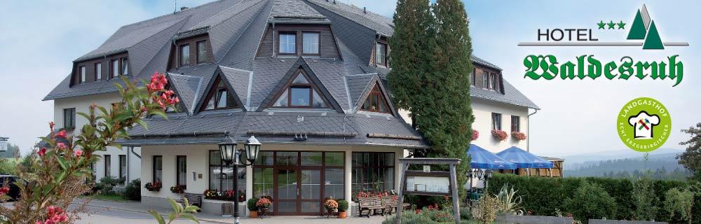 Ihr Hotel und Restaurant im Erzgebirge – Hotel Waldesruh Lengefeld