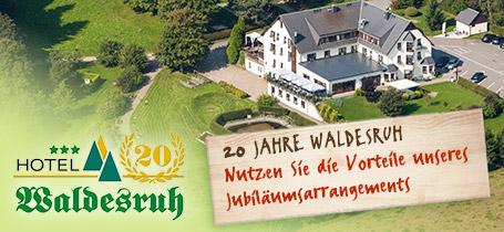20 Jahre Hotel Waldesruh – Buchen Sie unser Jubiläumnsangebot im Erzgbirge